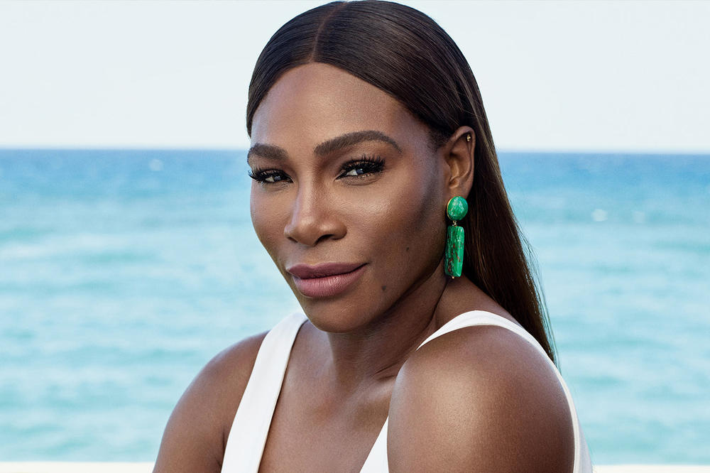 Serena Williams InStyle Magazine August 2018 Badass Woman Issue Swimsuit White