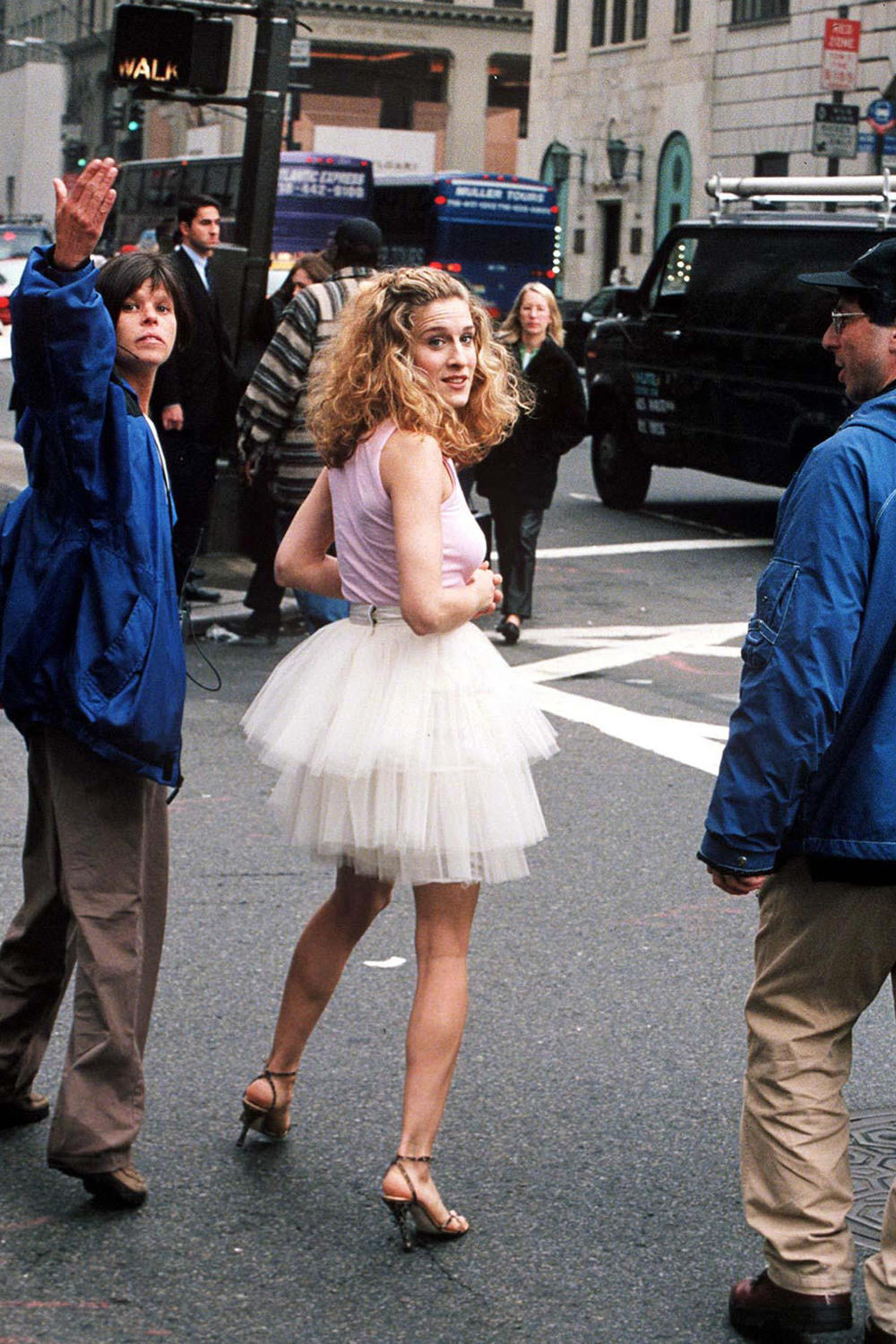Sex and the City Anniversary SATC Iconic Outfits Carrie Bradshaw Fashion Chanel Burberry Louis Vuitton Sarah Jessica Parker