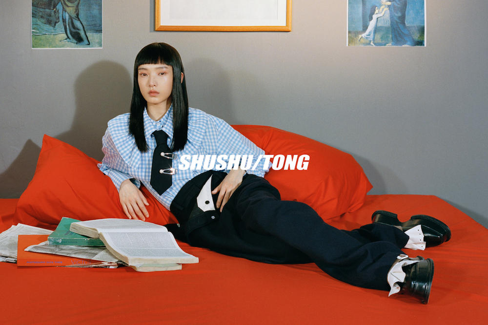 SHUSHU/TONG Fall/Winter 2018 Campaign Collection Lookbook Chinese UK School Uniforms Designer