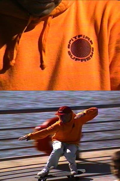Spitfire x Supreme Spring/Summer 2018 Collection Hoodie Orange