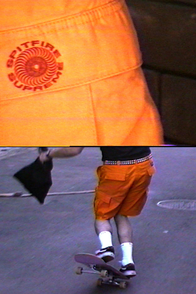 Spitfire x Supreme Spring/Summer 2018 Collection Cargo Short Orange