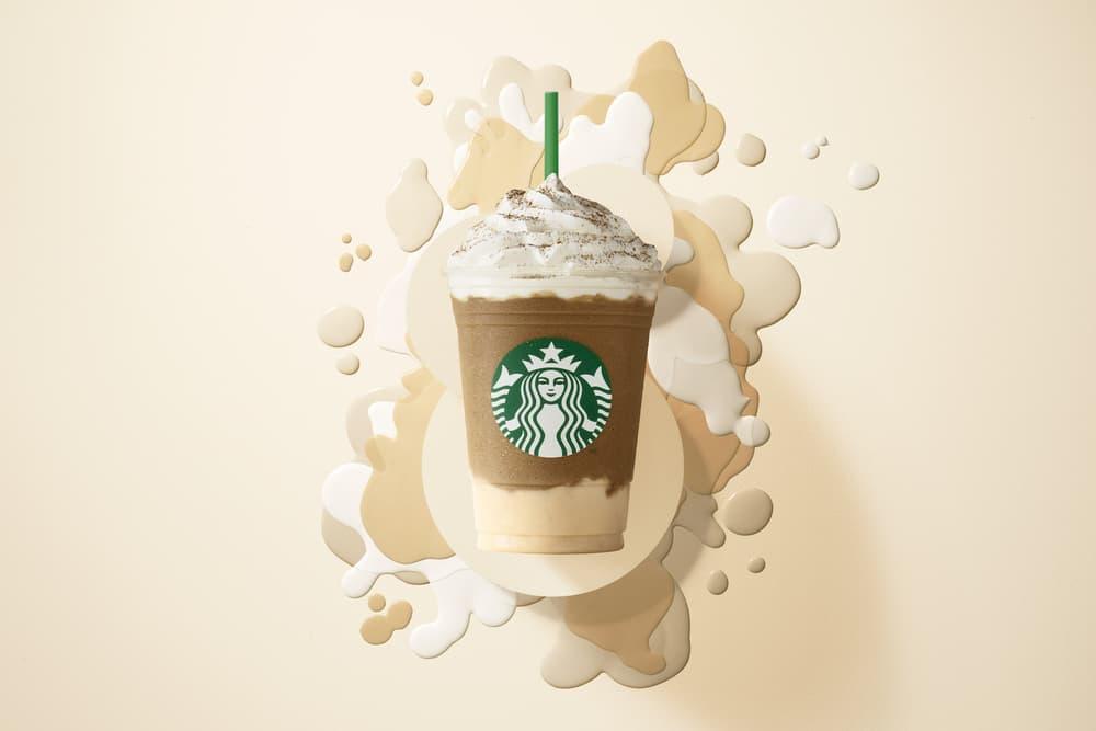 Starbucks Milk Tea Panna Cotta Frappuccino Summer Flavor Drink Menu Hong Kong Asia Bubble Tea