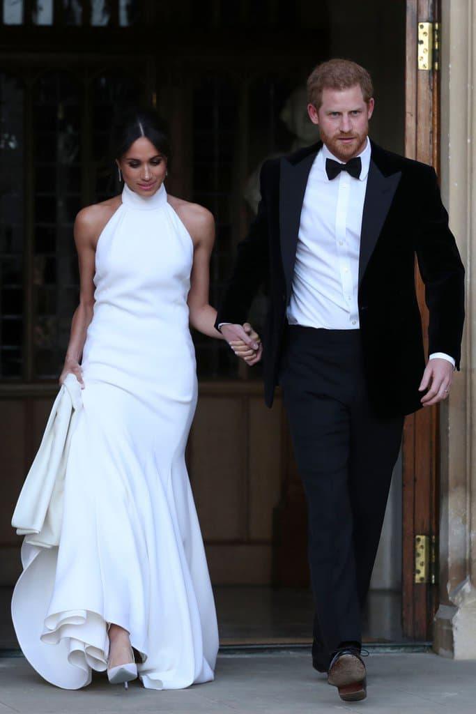 Meghan Markle Royal Wedding Reception Dress Stella McCartney Prince Harry