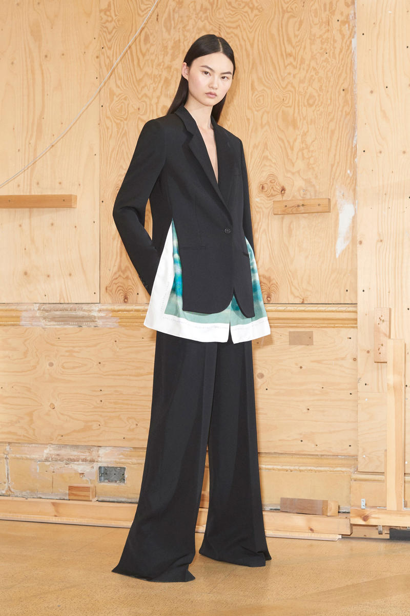Stella McCartney Spring/Summer 2019 Collection Lookbook Blazer Oversized Trousers Black
