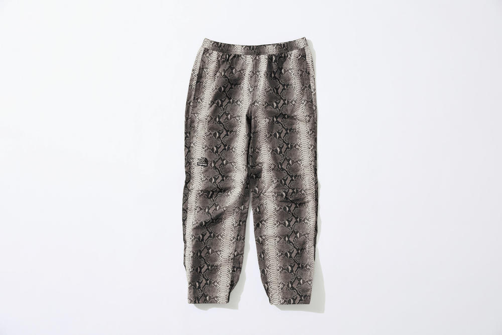 Supreme x The North Face Grey Snakeskin Print Pants