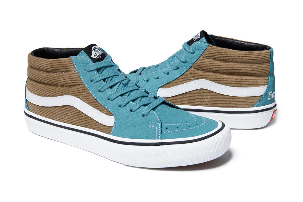d2c610899d supreme vans lampin sk8 mid spring summer collection corduroy suede