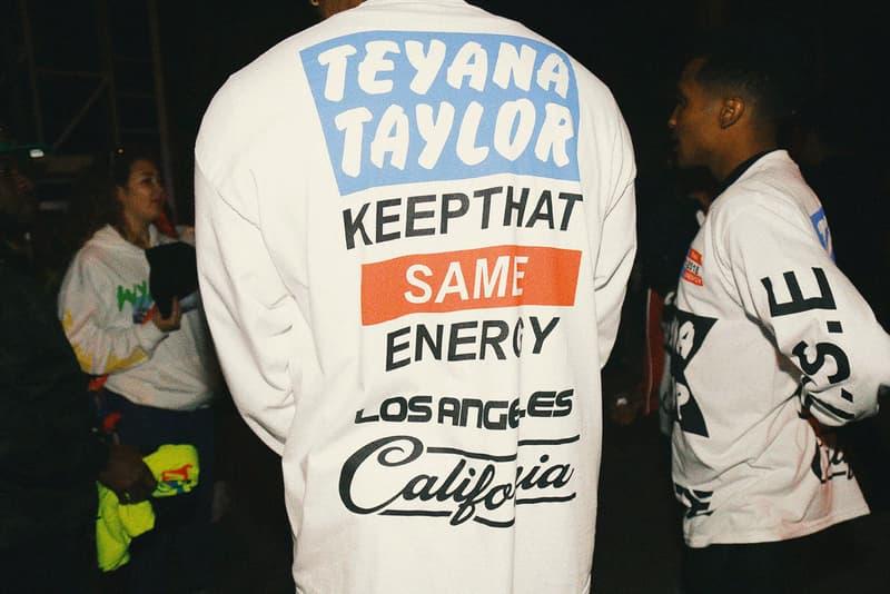 Teyana Taylor KTSE Keep That Same Energy Album Listening Party
