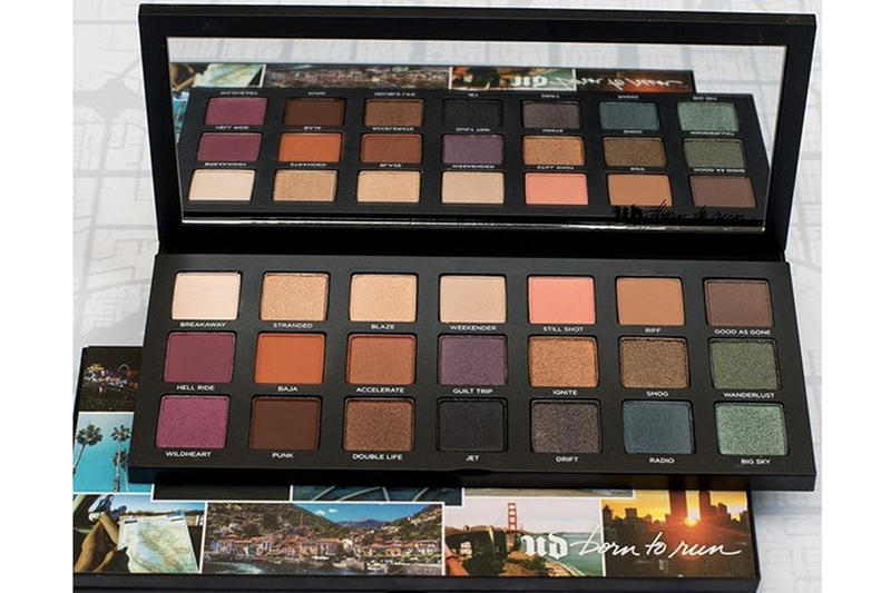 Urban Decay Born to Run Makeup Collection Eyeshadow Palette Lipstick Eye pencil liner