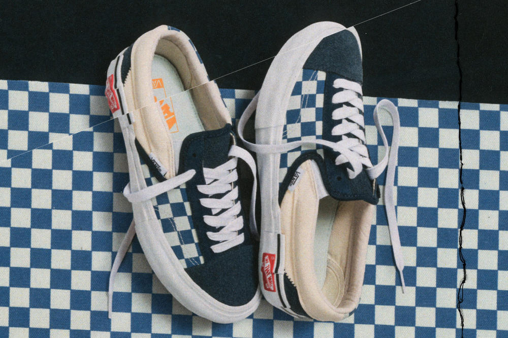 Vans Vault Authentic Inside Out Cap LX Pack Checkerboard Blue White