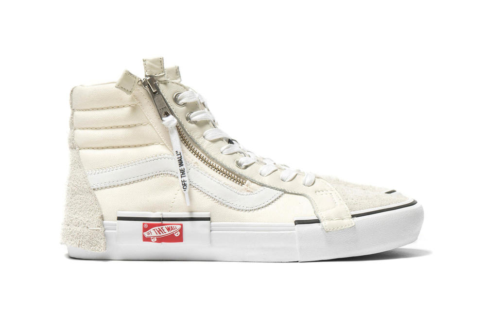 4c03111175 Vans Vault Sk8-Hi OFF THE WALL Cap LX Marshmallow