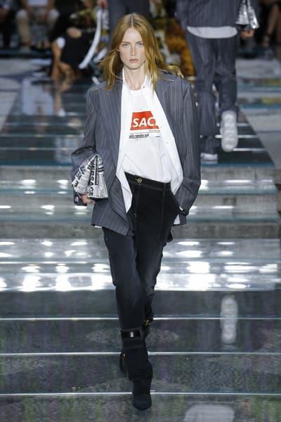 Versace Spring Summer 2019 Mens Runway Logo T-Shirt