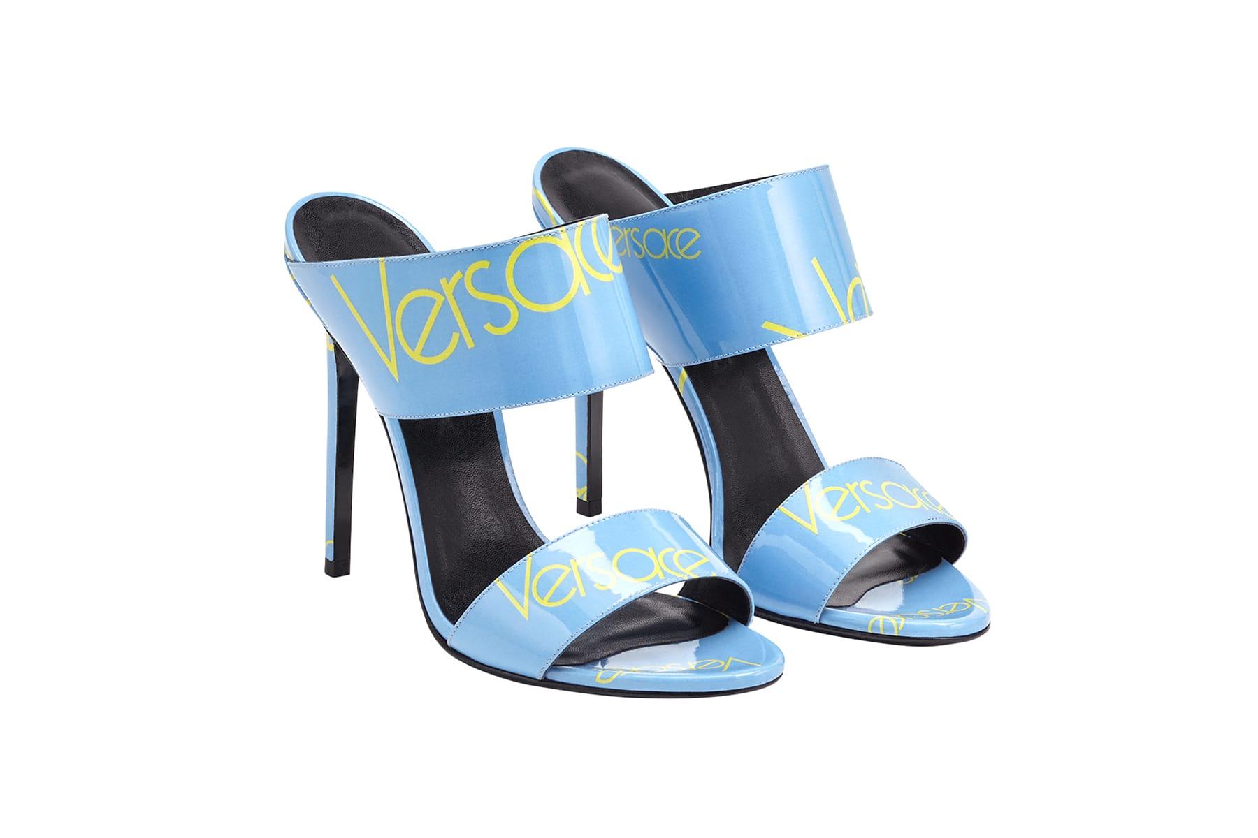 Versace Debuts Blue Logo Sandal | HYPEBAE