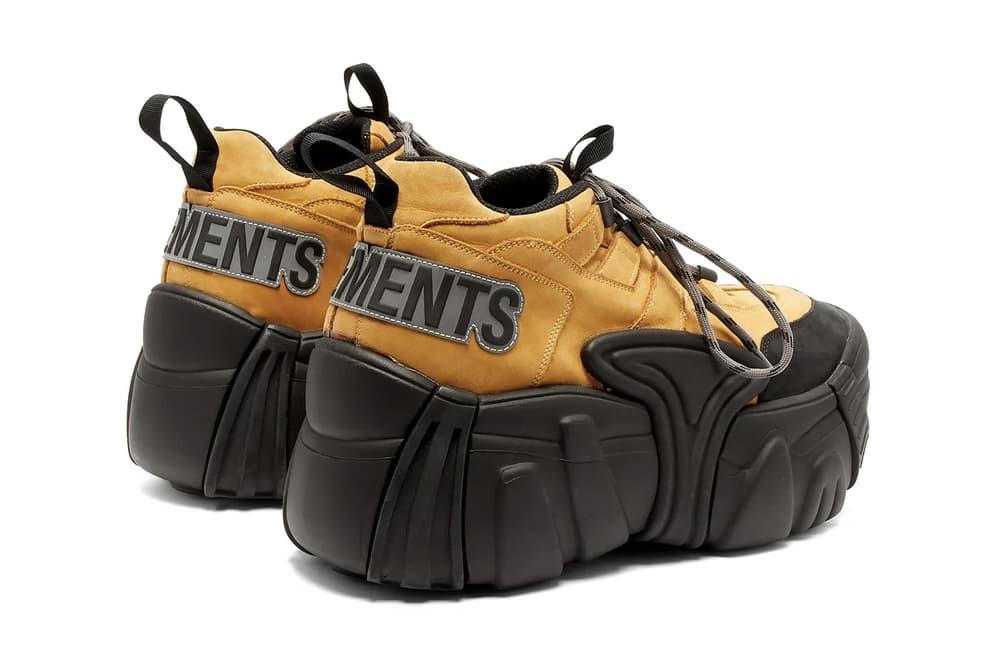 VETEMENTS x SWEAR London Release Oversized Chunky '90s Sneakers