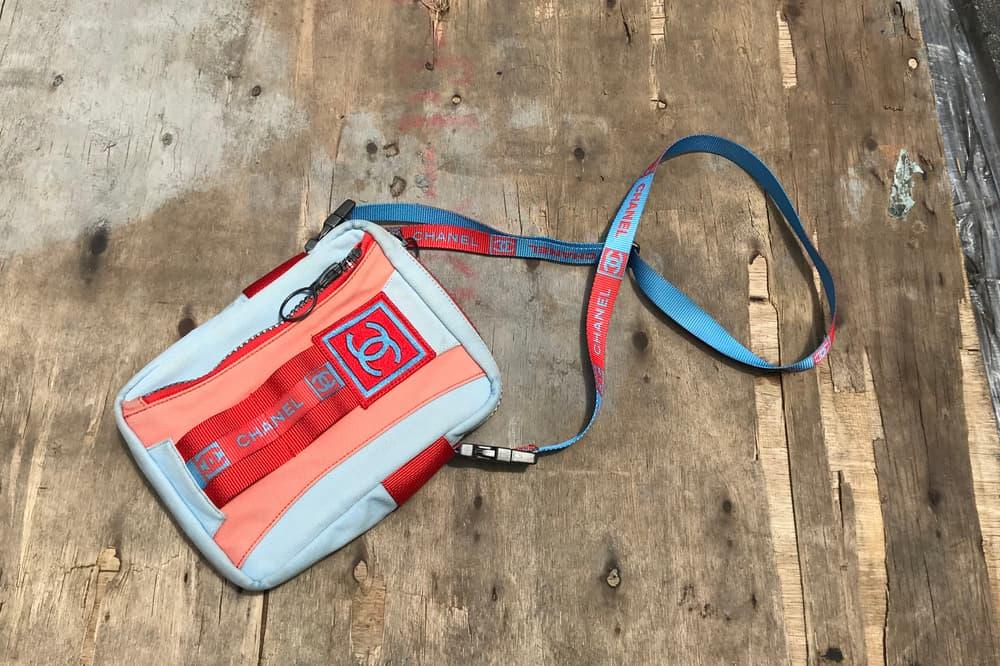 Chanel Sport Crossbody Bag Vintage Luxury Designer Bag