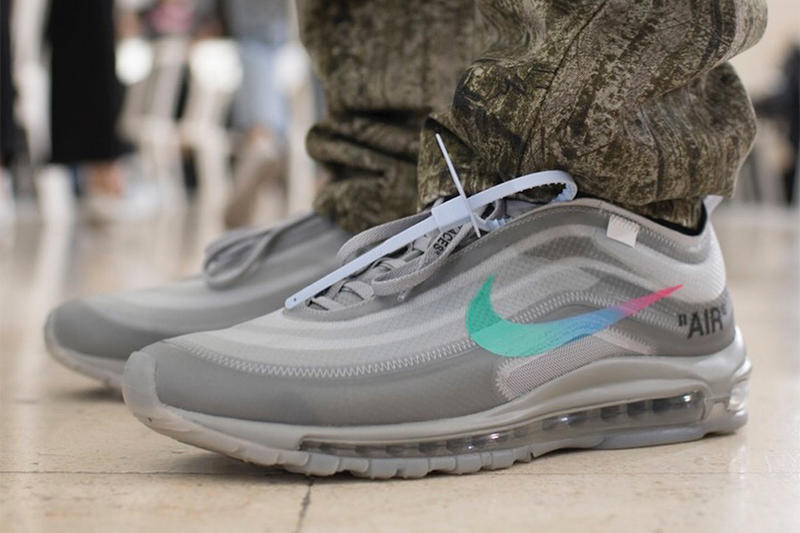 cheap for discount 4e8ac c24ca New Virgil Abloh x Nike Air Max 97 First Look Off-White Sneaker Paris  Fashion