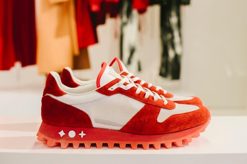 Virgil Abloh Louis Vuitton Spring/Summer 2019 Sneaker Red