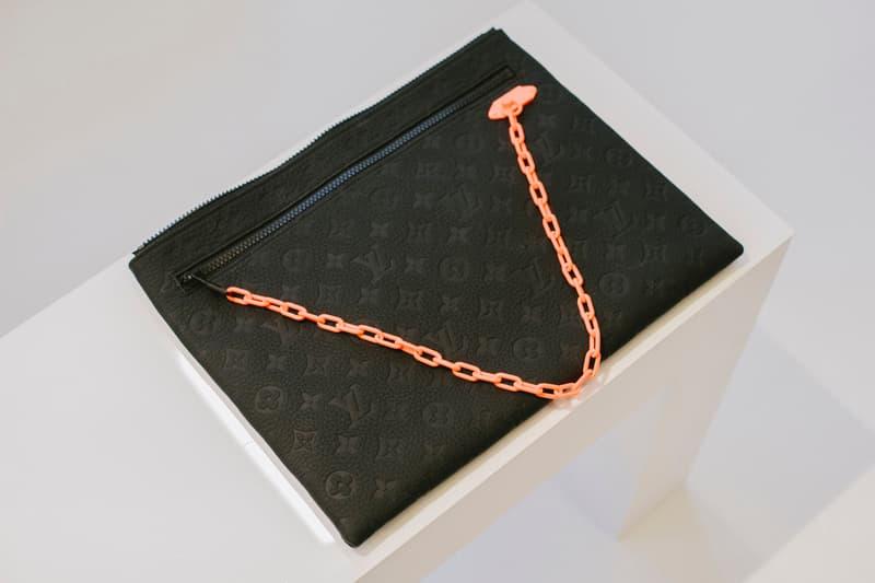Virgil Abloh Louis Vuitton Spring/Summer 2019 Bag Monogram Orange