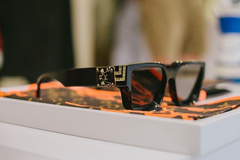 Virgil Abloh Louis Vuitton Spring/Summer 2019 Sunglasses Black