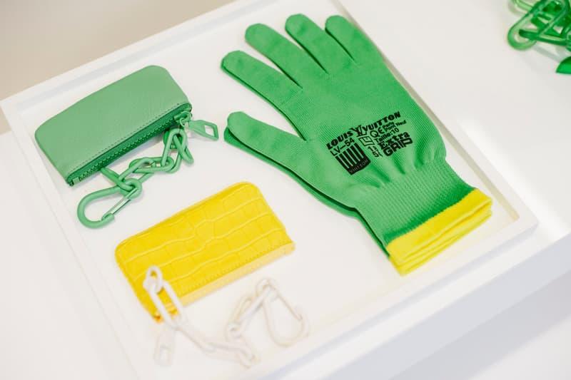 Virgil Abloh Louis Vuitton Spring/Summer 2019 Glove Wallet Green