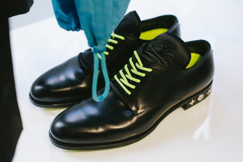 Virgil Abloh Louis Vuitton Spring/Summer 2019 Brogue Black