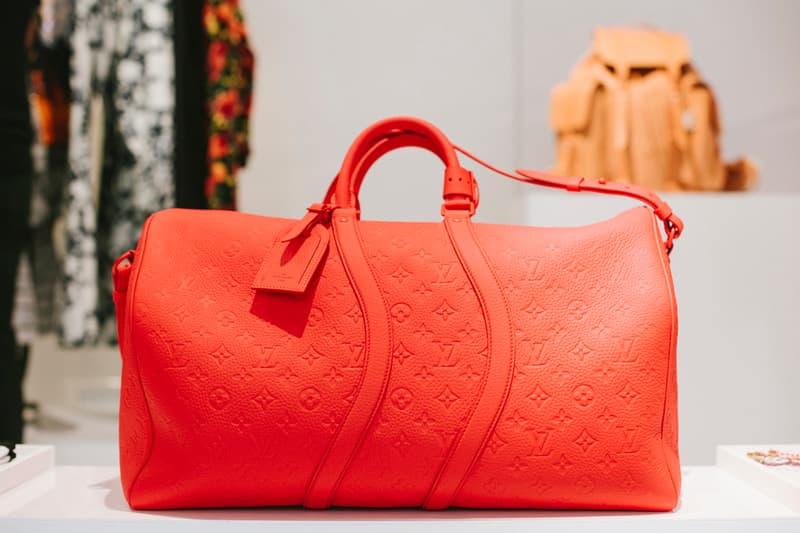 Virgil Abloh Louis Vuitton Spring/Summer 2019 Keepall Bag Red