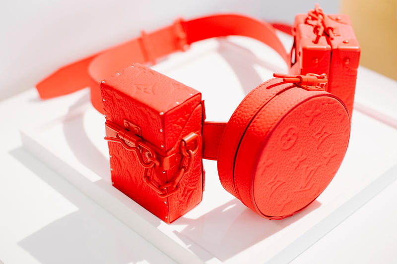 Virgil Abloh Louis Vuitton Spring/Summer 2019 Belt Bag Red