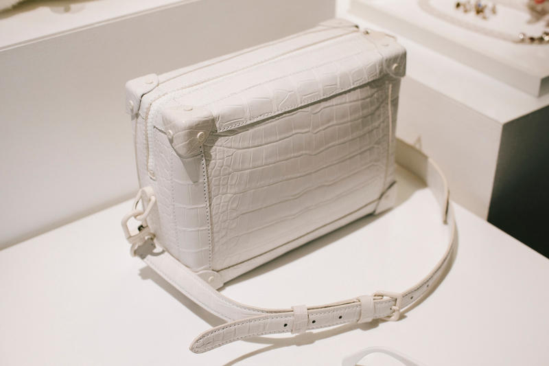 Virgil Abloh Louis Vuitton Spring/Summer 2019 Square Bag White