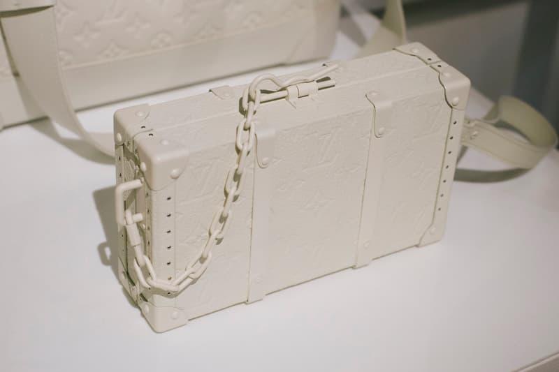 Virgil Abloh Louis Vuitton Spring/Summer 2019 Rectangle Bag White