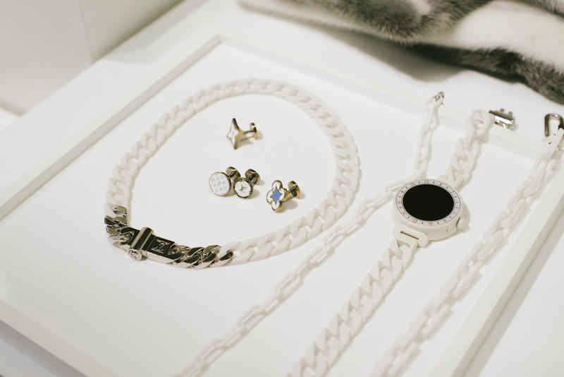 Virgil Abloh Louis Vuitton Spring/Summer 2019 Necklace Cufflink White