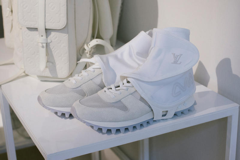 Virgil Abloh Louis Vuitton Spring/Summer 2019 High-Top Sneaker White