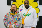"Picture of Take a Look Inside Virgil Abloh & Takashi Murakami's ""TECHNICOLOR 2"" Exhibition"