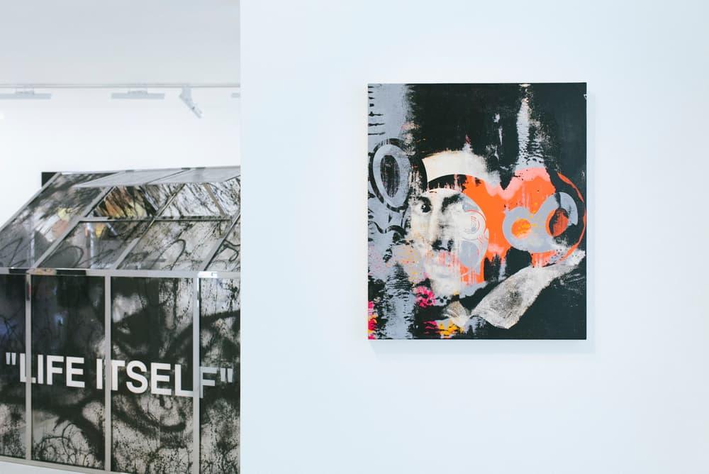Virgil Abloh Takashi Murakami TECHNICOLOR 2 Exhibition Gagosian Paris