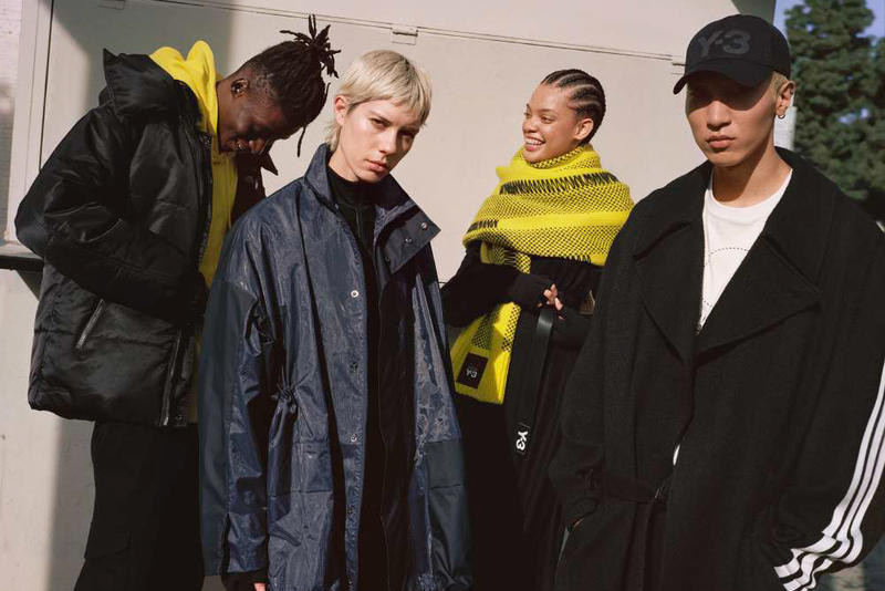 Y-3 Chapter 1 Fall Winter 2018 Campaign