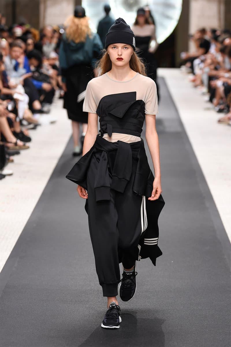 y-3 yohji yamamoto adidas paris fashion week mens spring summer 2019 goretex