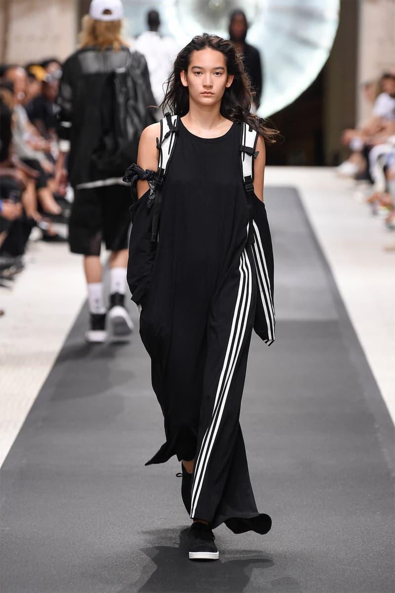 f43d0b206720 y-3 yohji yamamoto adidas paris fashion week mens spring summer 2019 goretex