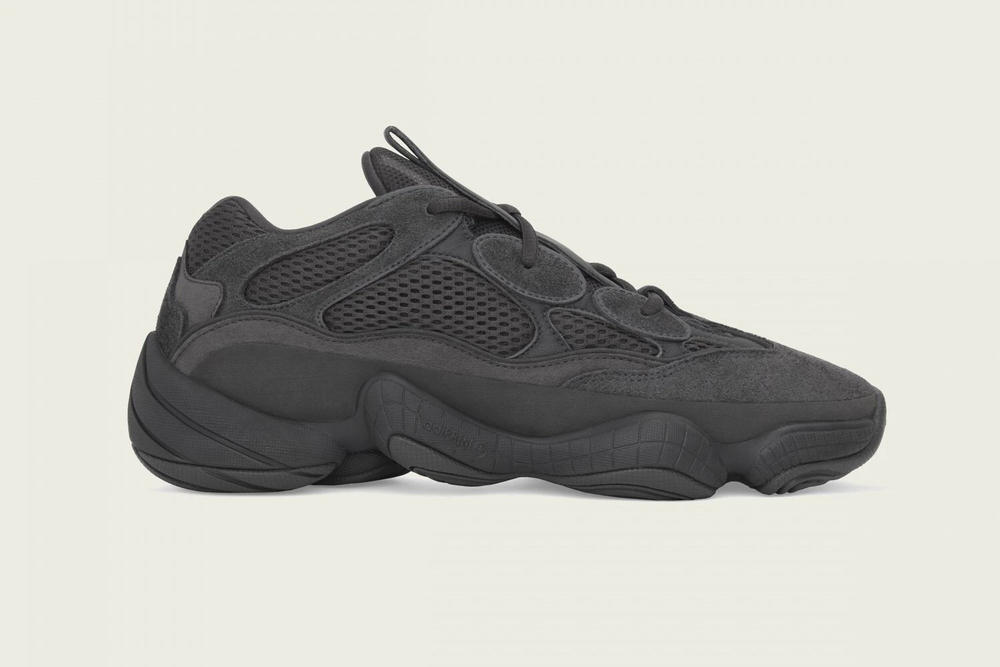 "adidas Originals YEEZY 500 ""Utility Black"" Release Info Kanye West"