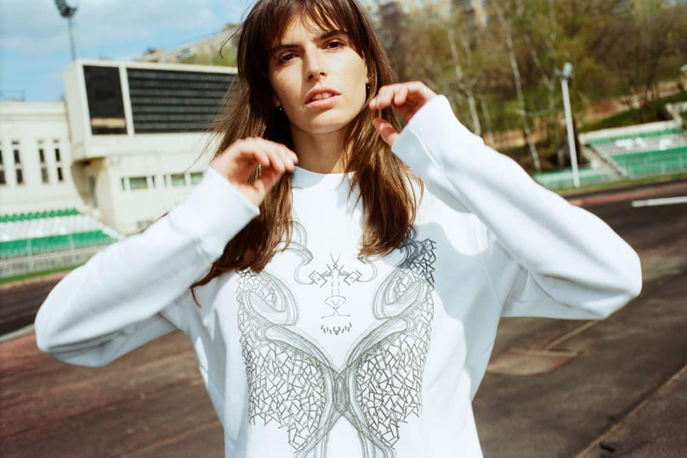 YOOX Soccer Couture Collection Nio Far x Mwami Sweatshirt Grey