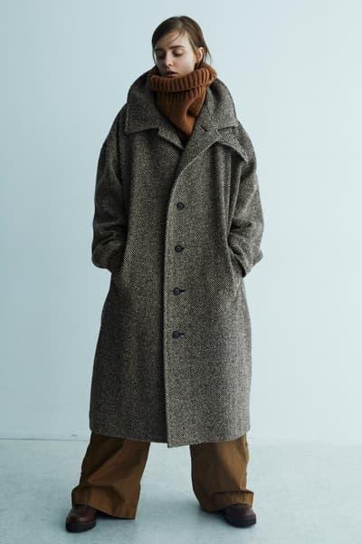 Y's Fall/Winter 2018 Lookbook Yohji Yamamoto Layer Autumn