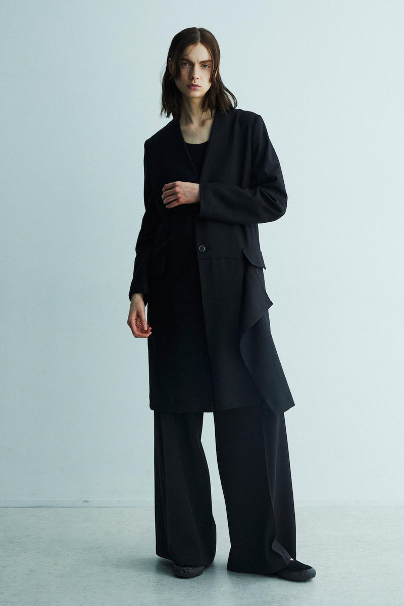 Y's Fall/Winter 2018 Lookbook Yohji Yamamoto Layer Autumn