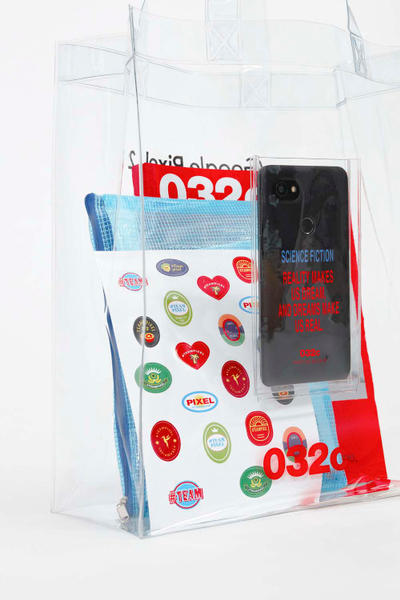 Google Pixel 2 Smartphone 032c PVC Tote Bag Collaboration Limited Edition Exclusive Drop Launch