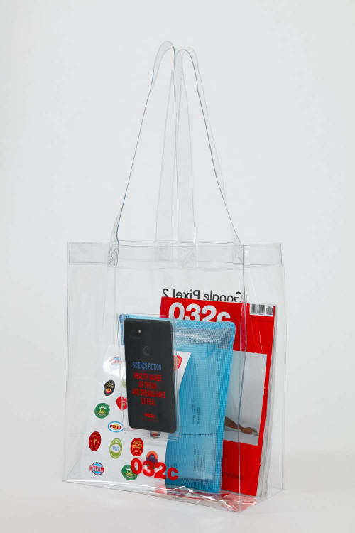 Google Pixel 2 Smartphone 032c PVC Tote Bag Collaboration Limited Edition Exclusive Drop Launch