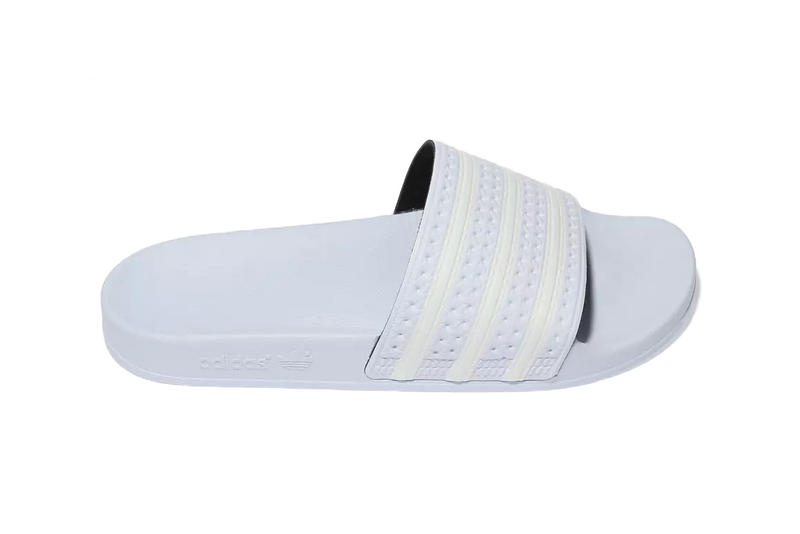 ae505c9920900 adidas adilette slides pastel pale pink blue white stripes