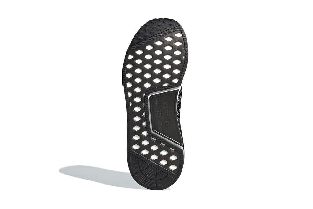adidas originals nmd r1 stlt black white primeknit dusk pink boost sole