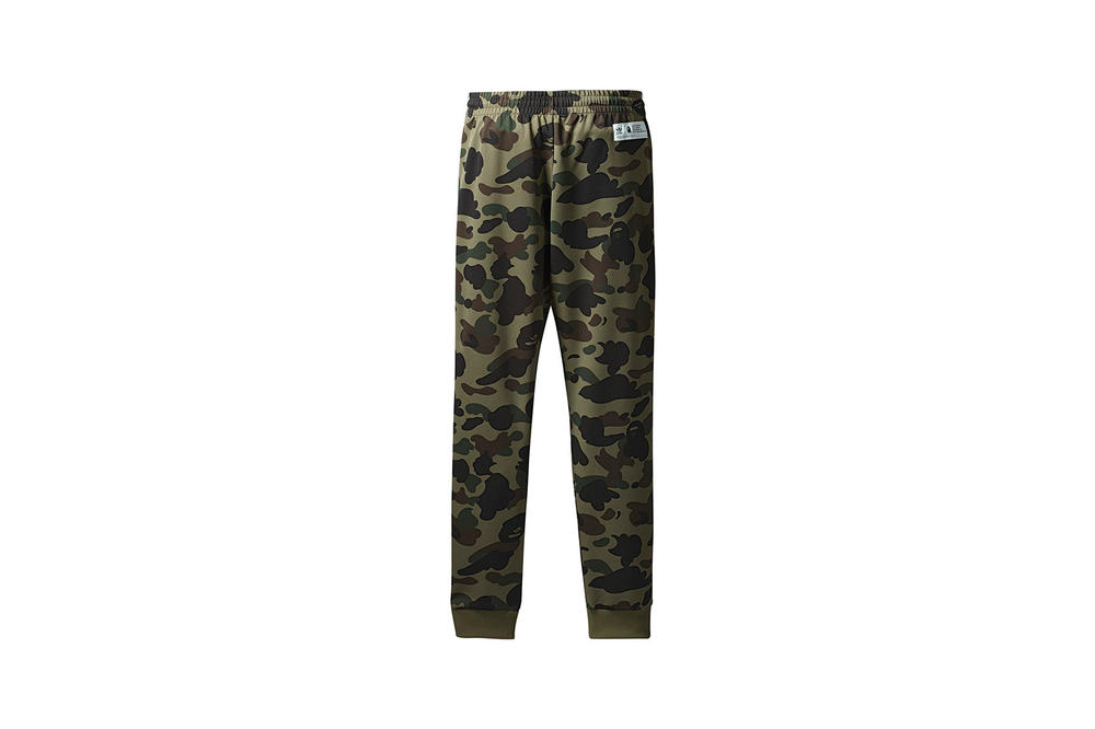 BAPE x adidas Originals Collection Track Pants Green