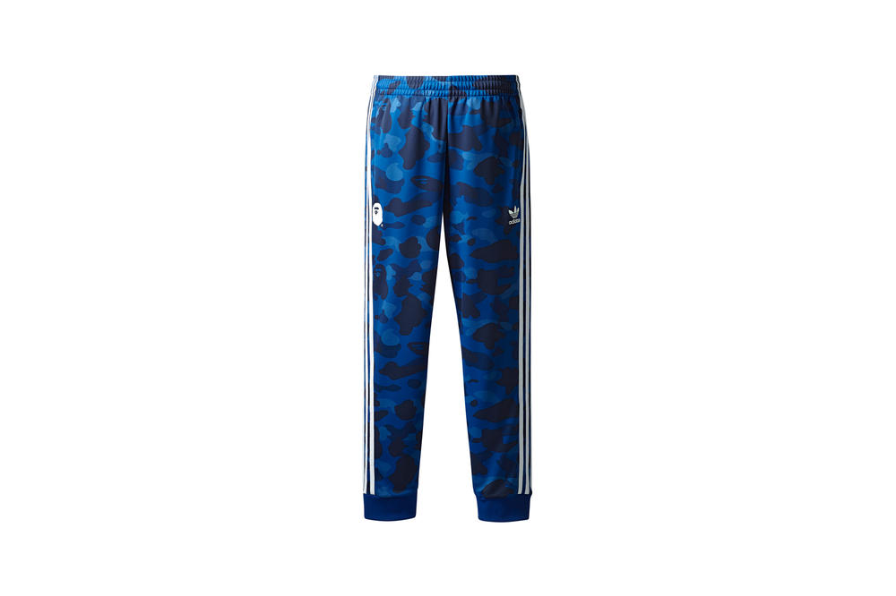 BAPE x adidas Originals Collection Track Pants Blue