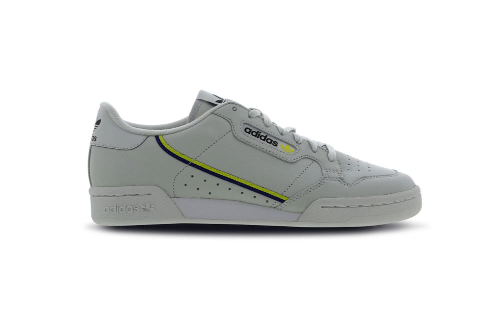 huge discount ab332 1db89 adidas originals continental 80 grey neon yellow navy yeezy powerphase. 1  of 6. Foot Locker UK