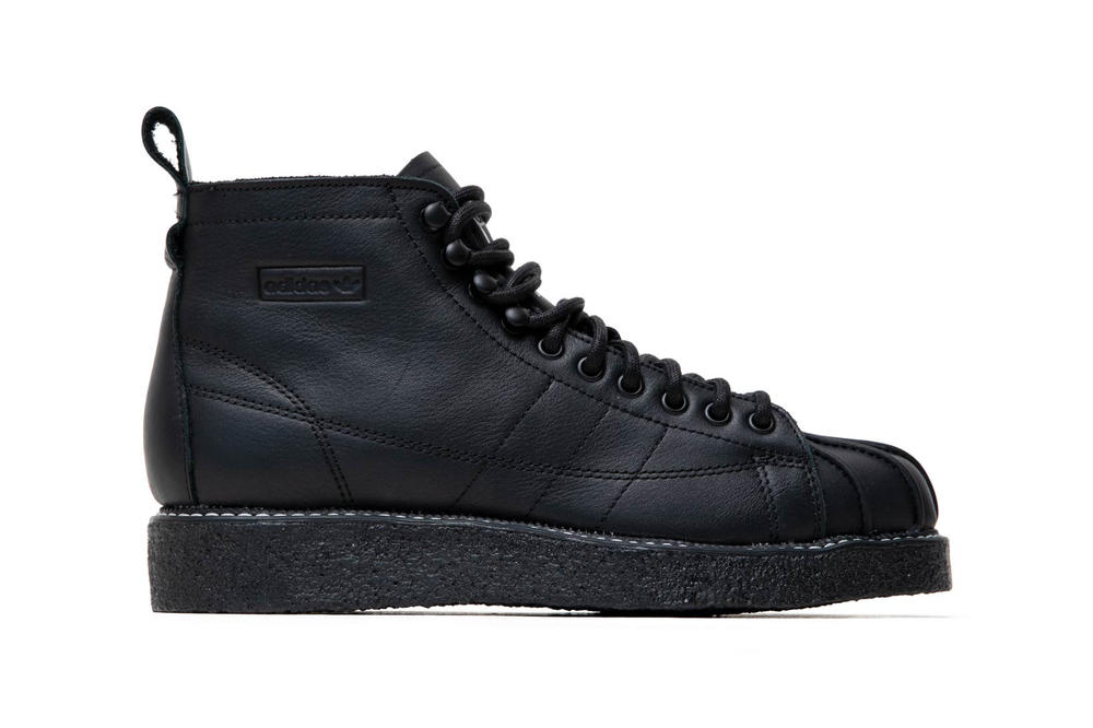 separation shoes 85419 24346 adidas Originals Superstar Boot Luxe Black