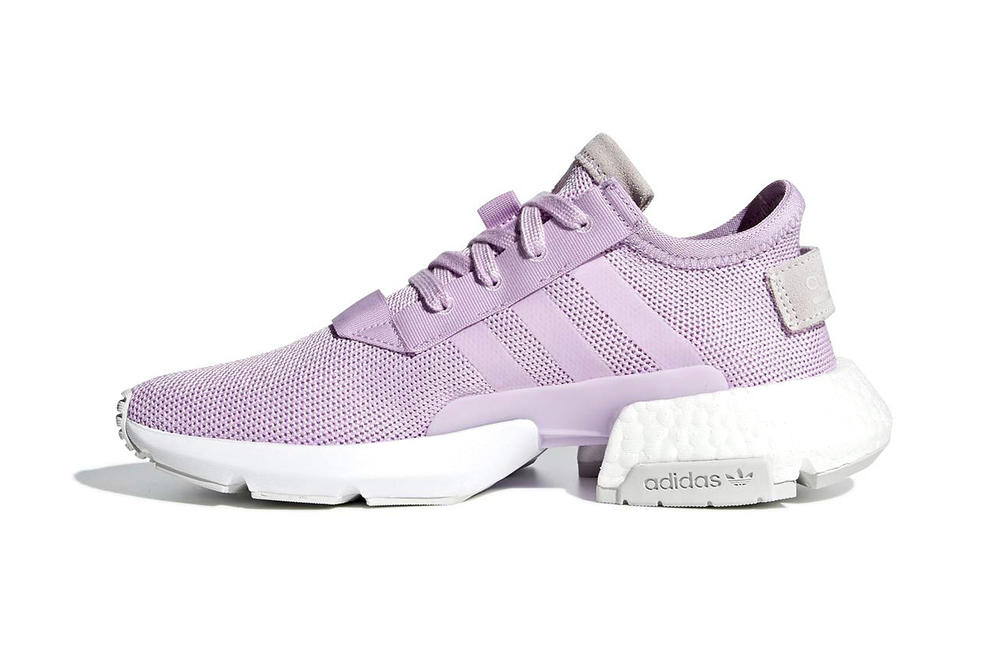 adidas pod s31 clear lilac boost eva midsole mesh lifestyle sneaker