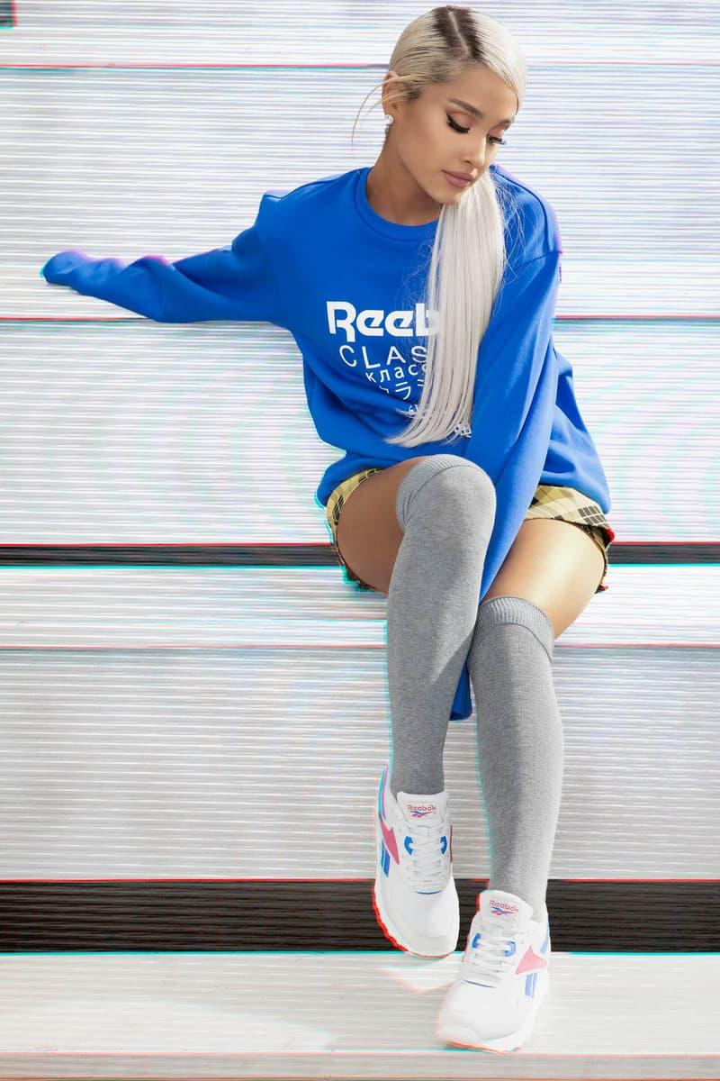 Reebok Ariana Grande Rapide Lookbook