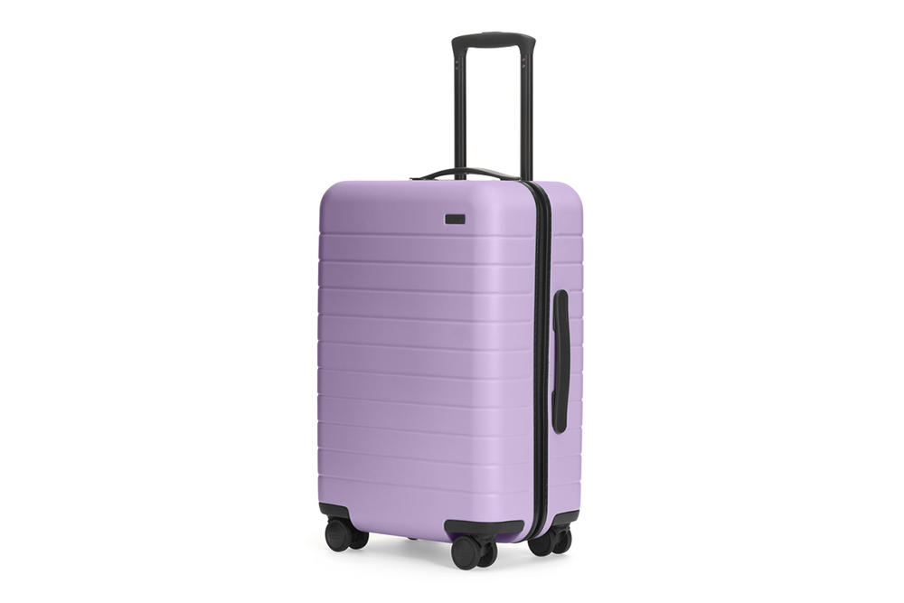 Away Travel Salt and Stone Suitcase Luggage Carry-On Lilac Purple Lavender